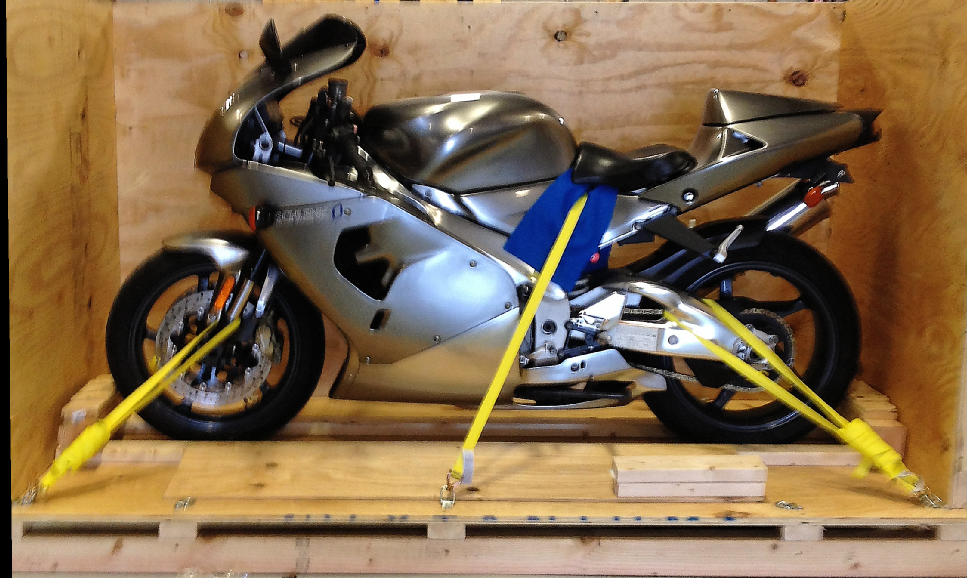 Motorcycle Shipping at Navis Pack & Ship in Boston