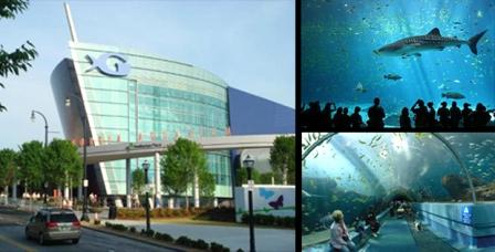 Navis Pack Ship The Georgia Aquarium In Atlanta Ga